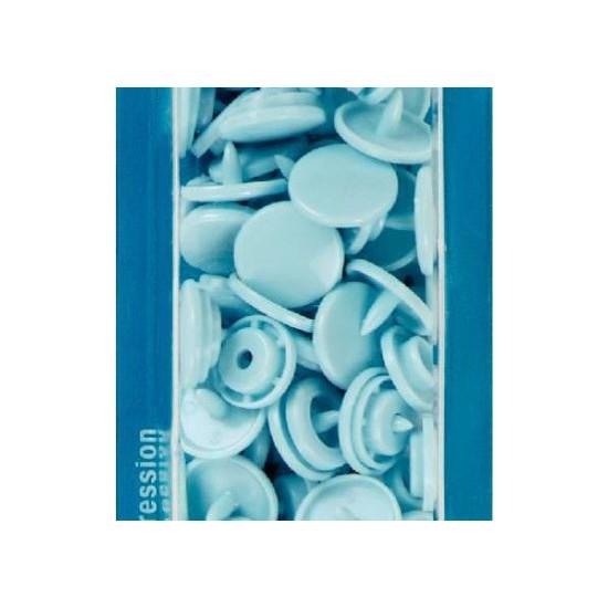 botó de pressió 12,4 mm. blau clar Prym 393120