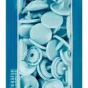 botó de pressió rodó12,4 mm. blau clar Prym 393120